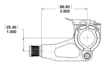 dumbbell attachment measurements